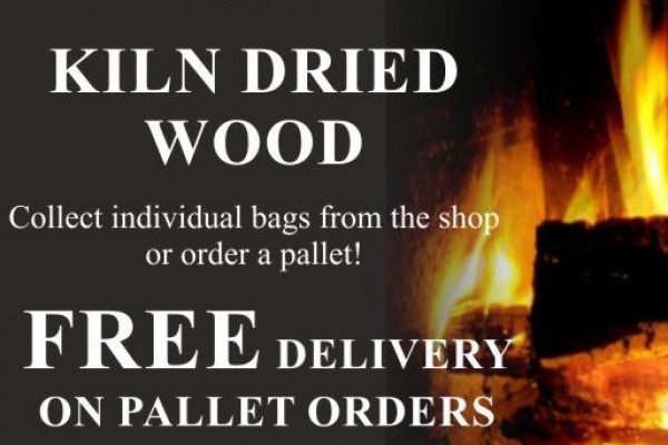Kiln, Seasoned and olive wood available at Ideal Fires
