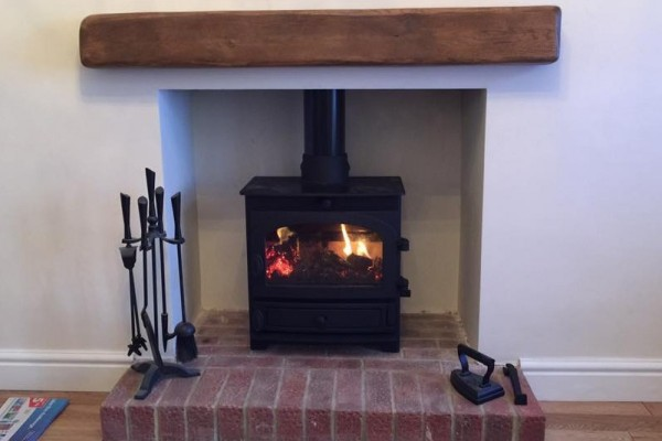 Hunter stove installed in Canterbury Kent