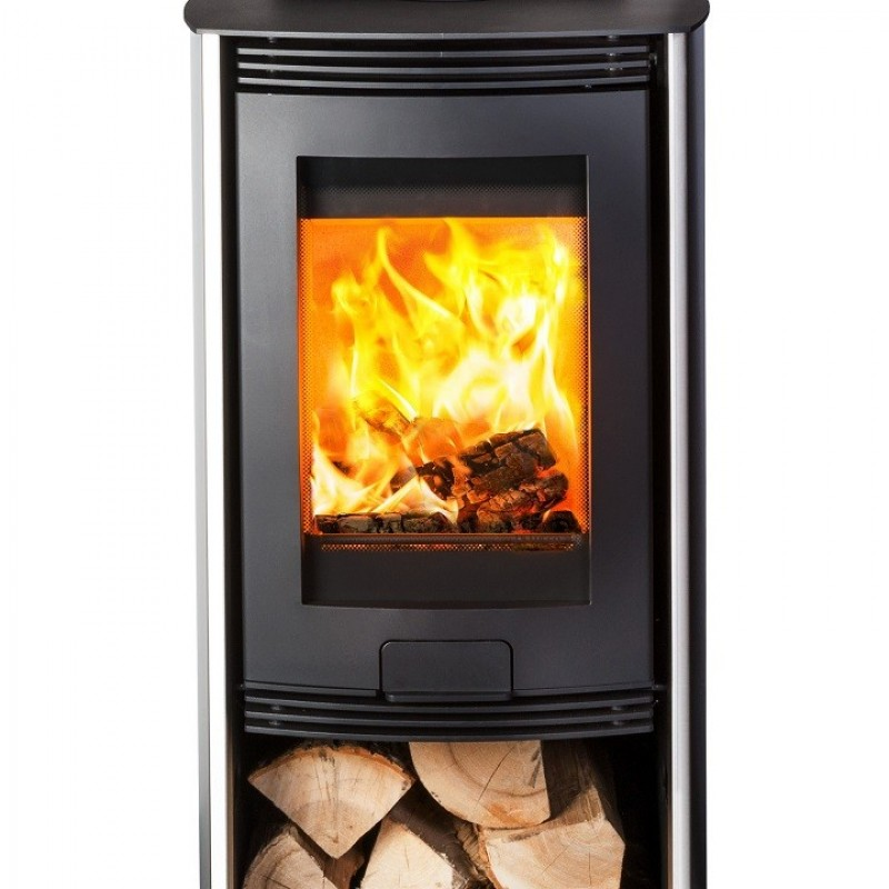 Hunter Di Lusso Euro R4  5kW Wood Burner