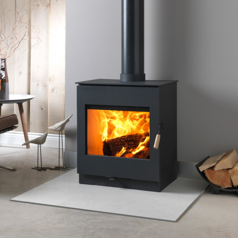 Burley Swithland 9308 Wood Burner and Multi Fuel Stove. Ideal Fires