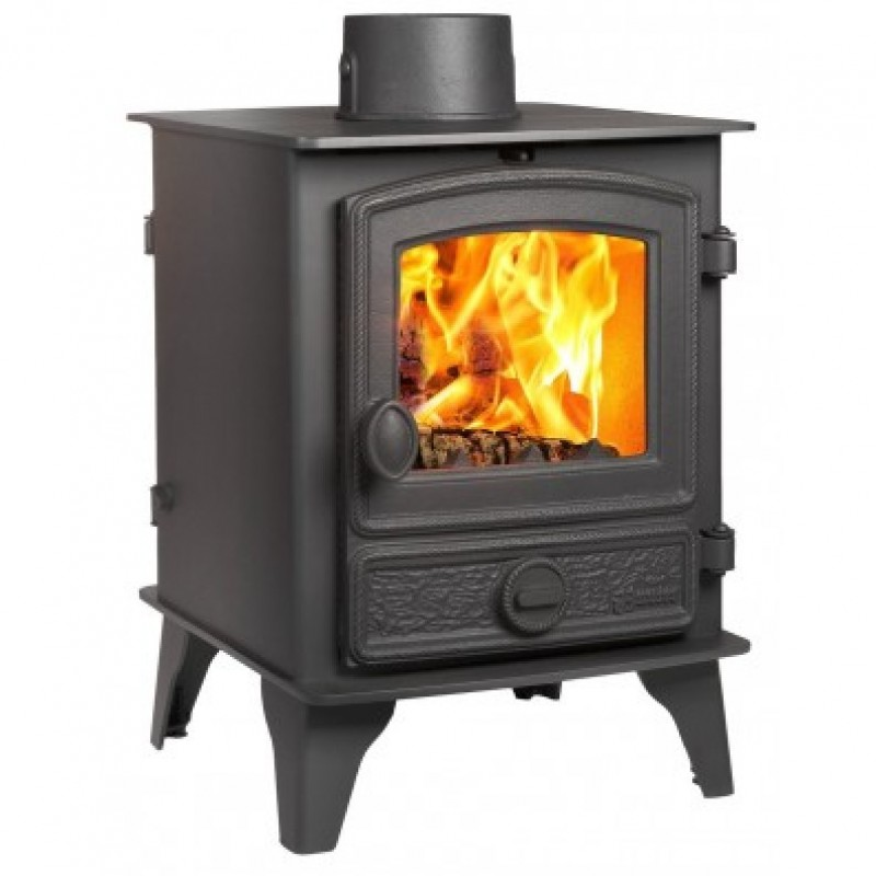 Hunter Hawk 4 Double Sided  10.6kW  Wood burner Ideal Fires