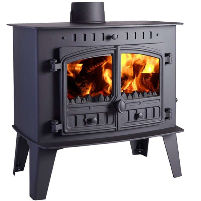 Hunter Low Output Inglenook  7.3kW Wood burning or Multi Fuel