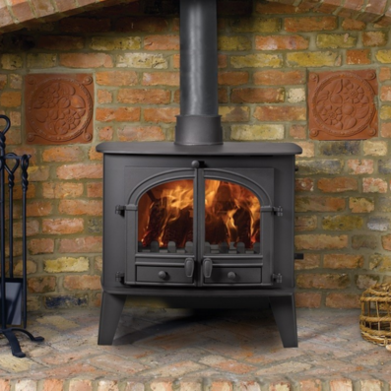 Hunter Consort 15  11.5kW Mutlifuel Stoves Ideal Fires