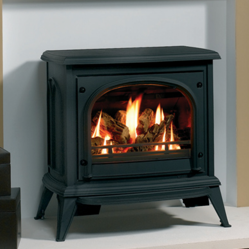 Stovax Ashdon Gas Stoves - Clear Door