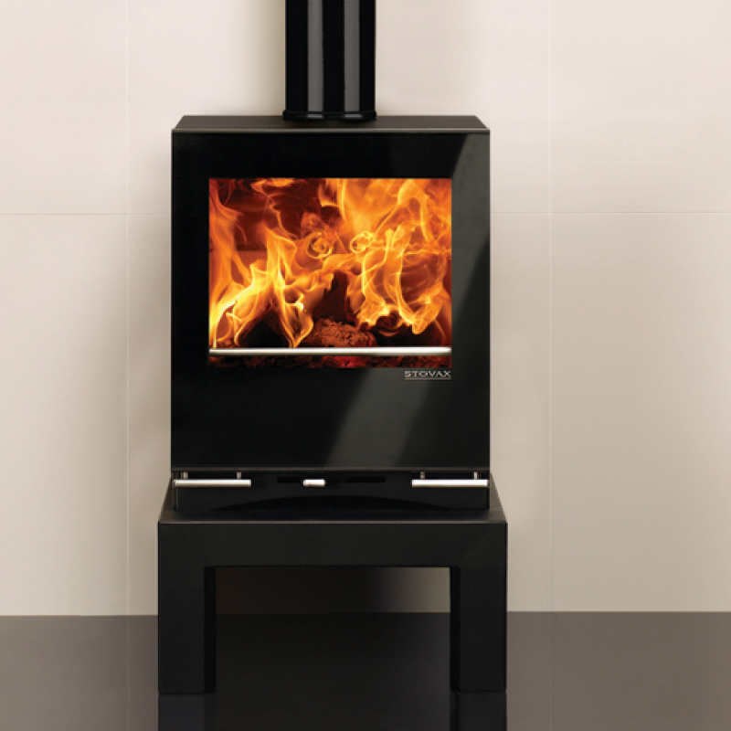 Stovax Riva Vision Medium Wood Burners Ideal Fires