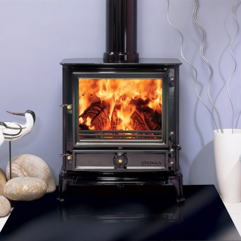 Stovax Brunel 3CB Multi Fuel Stove Ideal Fires