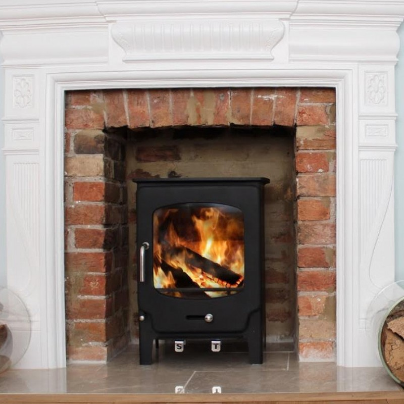 Saltfire ST-X4 (4.1kW) Multifuel Ideal Fires