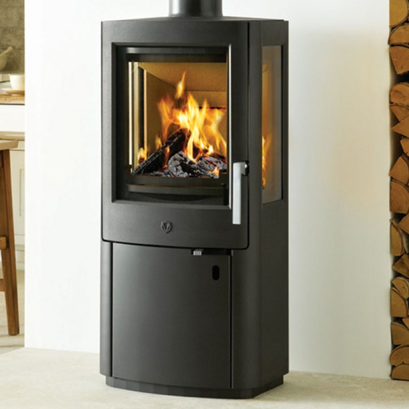 Varde Uniq 1  5kW Wood burner Ideal Fires